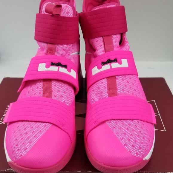 big sale 1396a 8418e Nike Lebron Soldier 10 Basketball Shoes Mens SZ 14